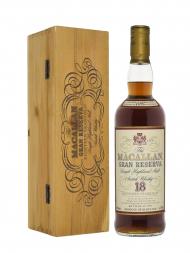 Macallan 1979 18 Year Old Gran Reserva (Bottled 1997) w/wooden box 700ml