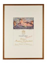 Picture Mouton 2010 with Frame