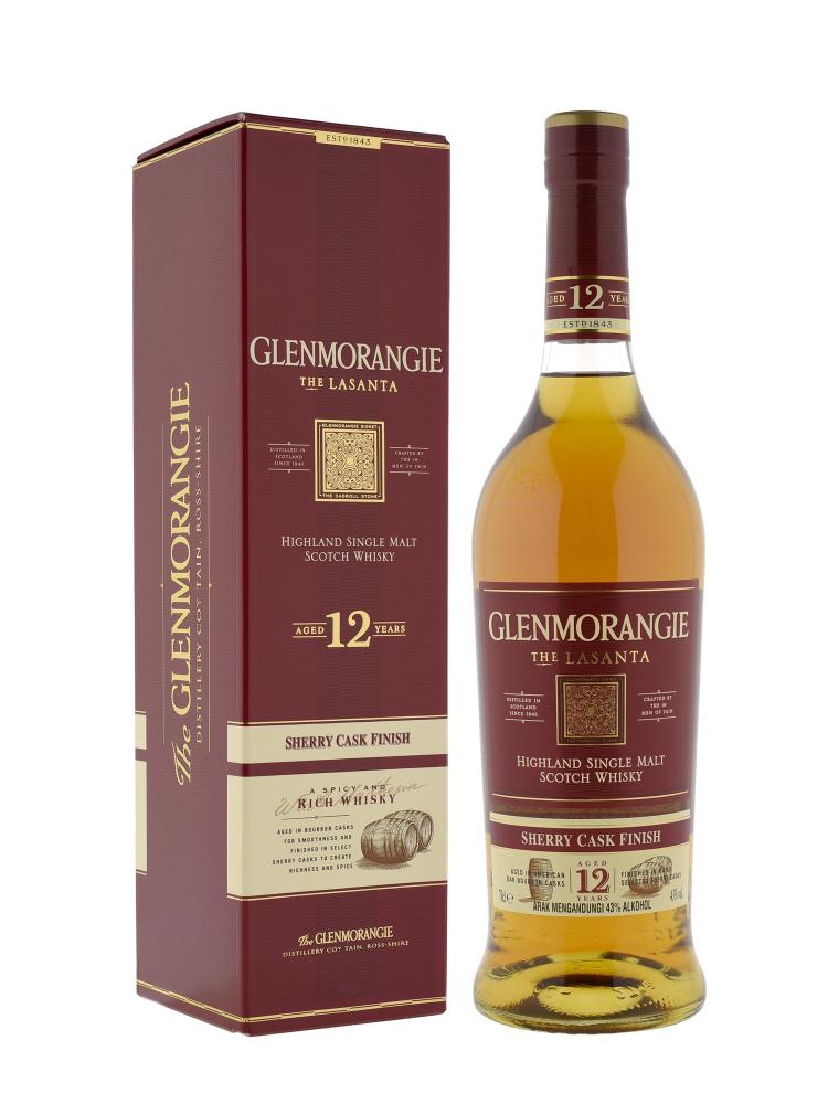 Glenmorangie 12 Year Old The Lasanta Single Malt 700ml