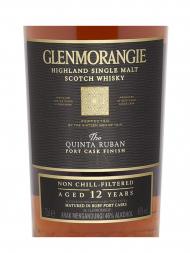 Glenmorangie 12 Year Old The Quinta Ruban Single Malt 700ml