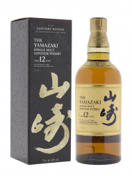 Yamazaki 12 Year Old Single Malt Whisky 700ml (Black Box)
