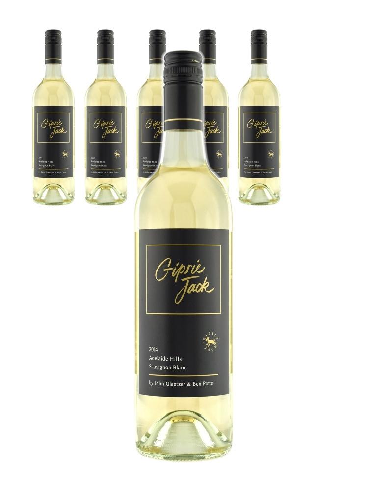 Gipsie Jack Adelaide Hills Sauvignon Blanc 2014-6bots