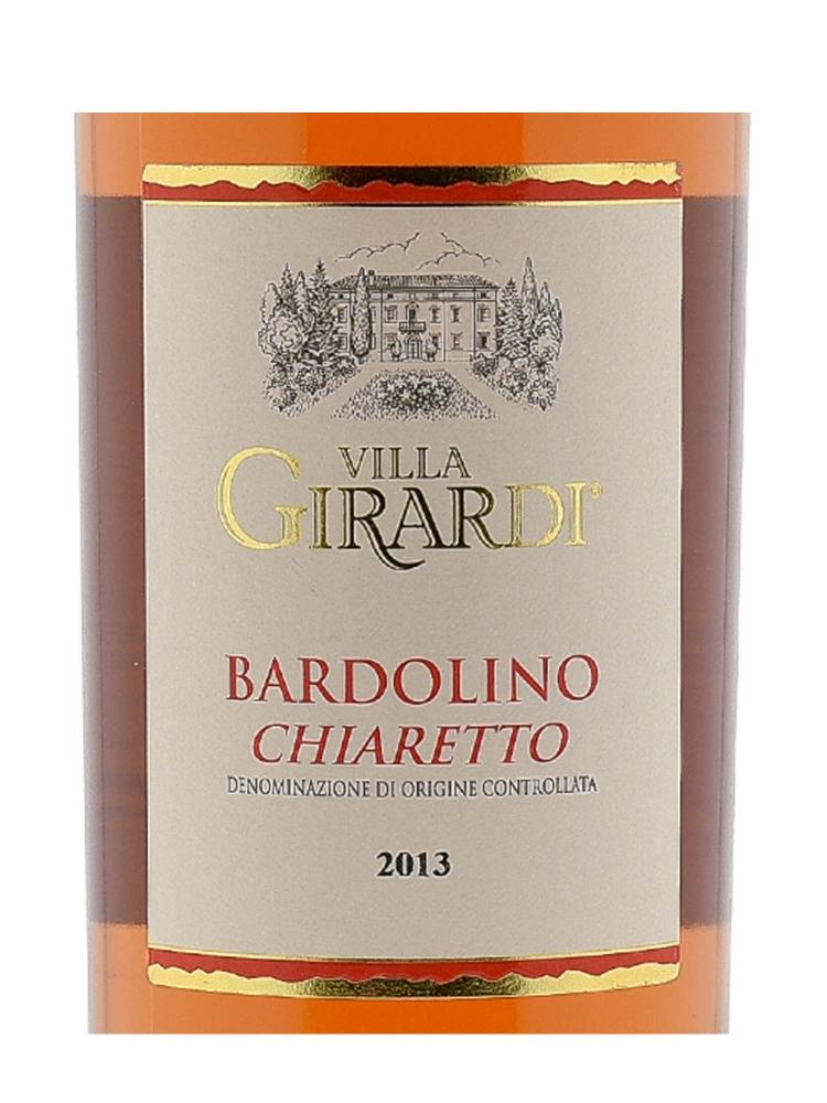 Villa Girardi Chiaretto Bardolino Classico 2013