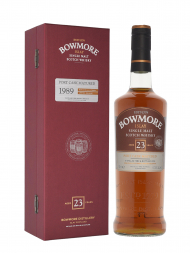 Bowmore 1989 23 Year Old Port Cask Matured Single Malt Scotch Whisky 700ml