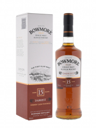 Bowmore Darkest 15 Year Old Single Malt Scotch Whisky 700ml