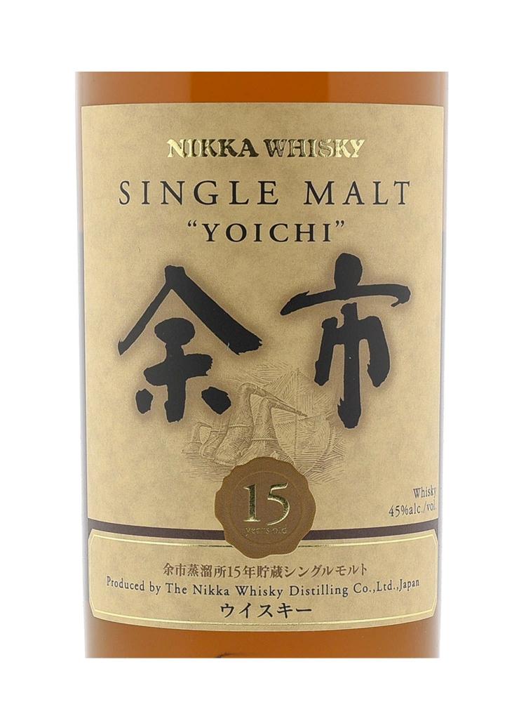 Nikka Yoichi 15 Year Old Single Malt 700ml