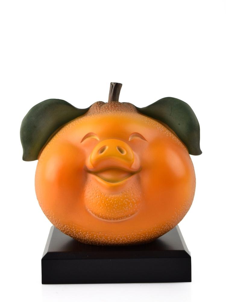 Tai Hwa Sculpture Piggy Auspicious Small