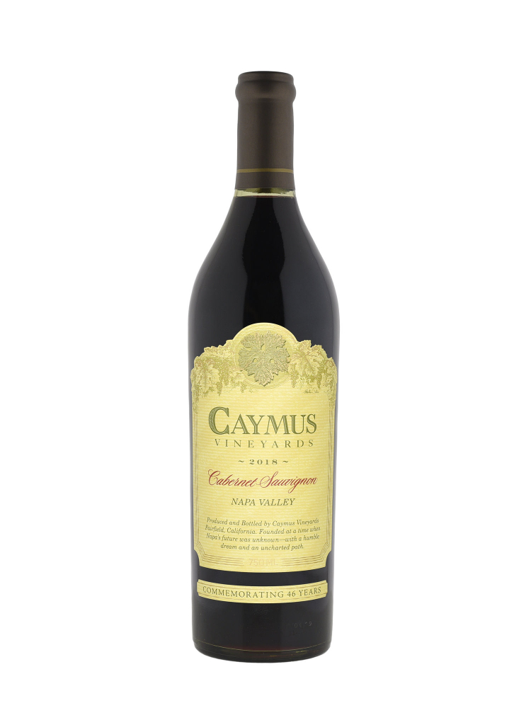 Caymus Cabernet Sauvignon 2018 - 6bots