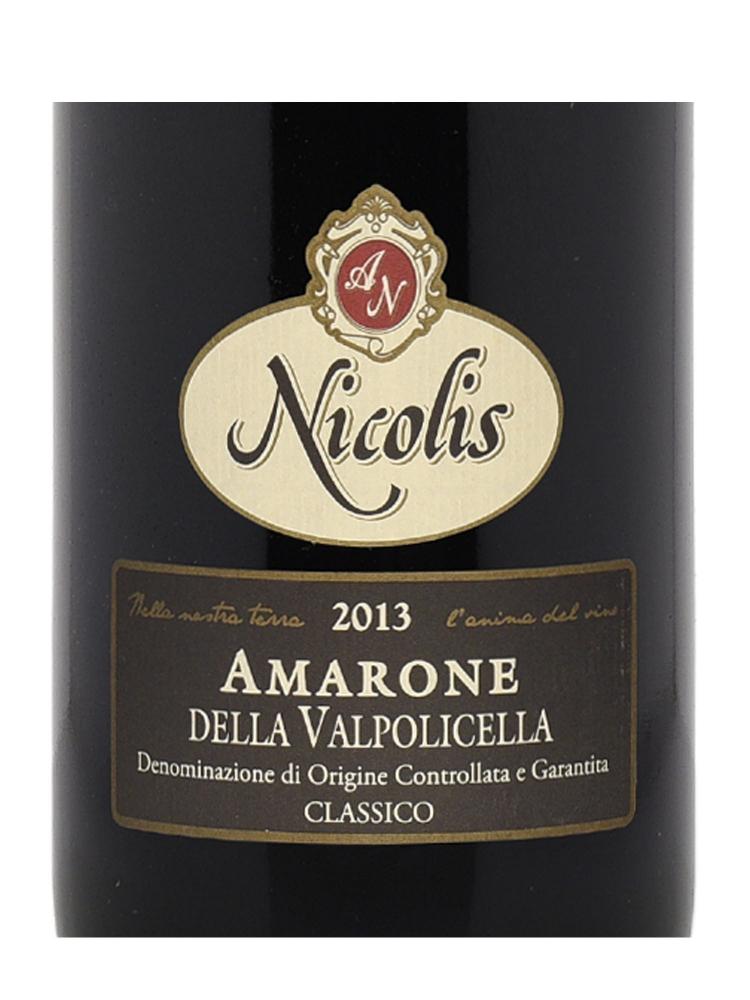Nicolis Angelo Amarone della Valpolicella DOC Classico 2013