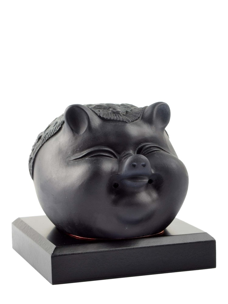 Tai Hwa Sculpture Piggy Good Fortune Word