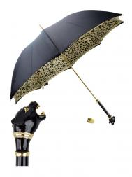 Pasotti Umbrella UMK1 Black Panther Handle Black Panther Print
