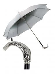 Pasotti Umbrella MAW06 Fish Handle Black Gradient