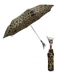 Pasotti Umbrella FMK8 Giraffe Handle Giraffe Print