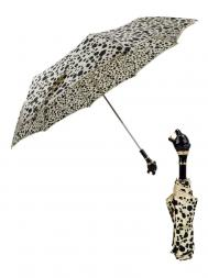 Pasotti Umbrella FMK1 Black Panther Handle Panther Print