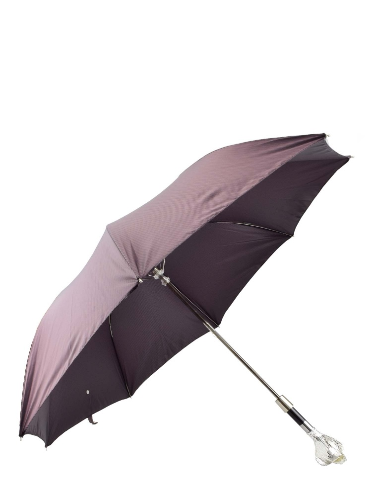Pasotti Umbrella FAW99 Snake Cobra Handle Burgundy