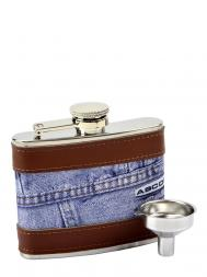 Peterson Hip Flask FLA138 Jeans 4oz