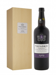 Taylor Very Old Single Harvest Port 1969 w/box