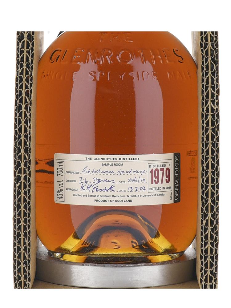 Glenrothes Single Malt Scotch Whisky 1979 700ml