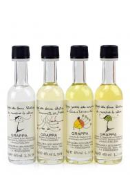 Levi Serafino Grappa Mignon Collection - Pack of 4 x 50ml