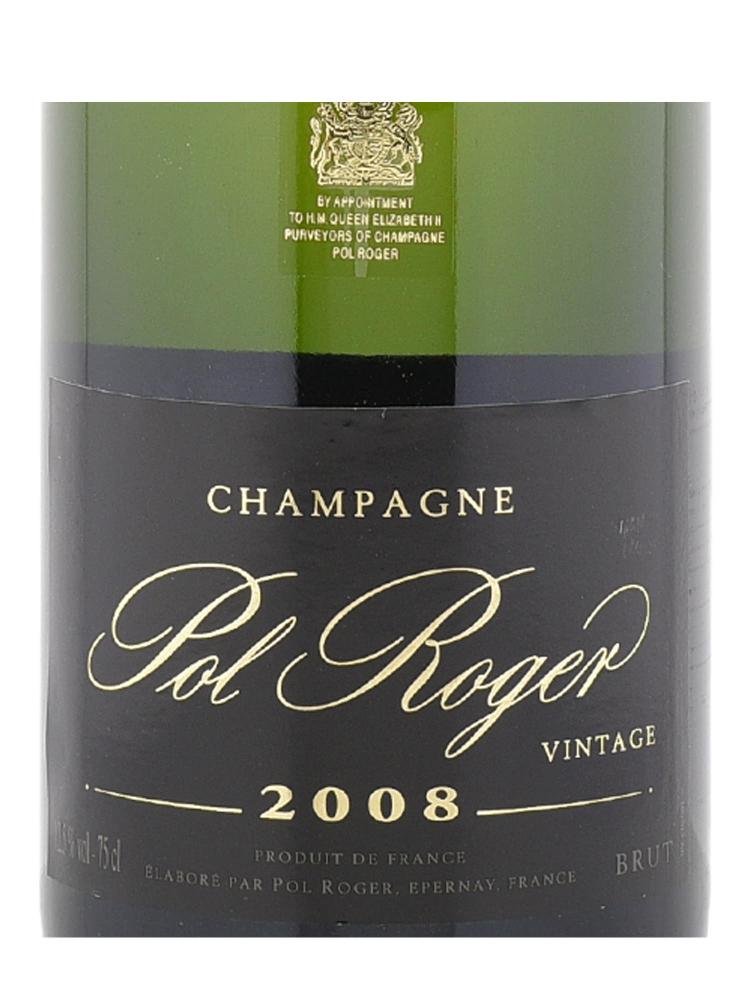 Pol Roger Brut 2008