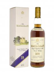 Macallan 1979 18 Year Old Sherry Oak (Bottled 1997) w/box 700ml