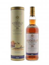 Macallan 1985 18 Year Old Sherry Oak w/box 700ml