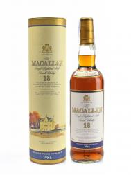 Macallan 1986 18 Year Old Sherry Oak w/box