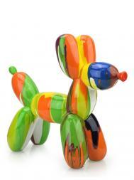 Sculpture Resin Dog Balloon FG614 Colourful