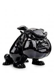 Sculpture Resin Bulldog French Big Black