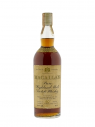 Macallan 1956 80deg Proof Sherry Wood Campbell & Hope