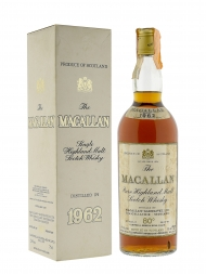 Macallan 1962 80deg Proof Sherry Wood Campbell & Hope w/box