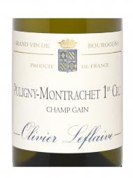 Olivier Leflaive Puligny Montrachet Champs Gain 1er Cru 2015