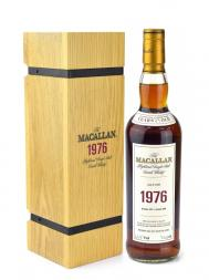 Macallan 1976 29 Year Old Fine & Rare Single Malt (Bottled 2006) 700ml