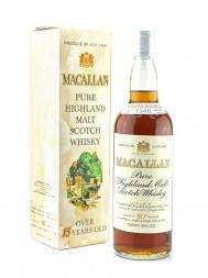 Macallan 1948 80deg Proof Sherry Wood w/box