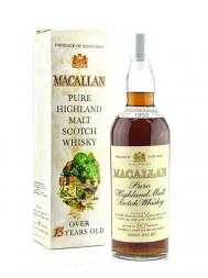 Macallan 1952 80deg Proof Sherry Wood w/box
