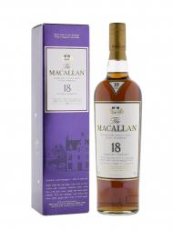 Macallan 1989 18 Year Old Sherry Oak w/box 700ml