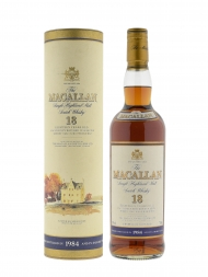 Macallan 1984 18 Year Old Sherry Oak w/box 700ml