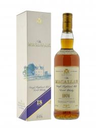 Macallan 1976 18 Year Old Sherry Oak (Bottled 1994) w/box