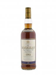 Macallan 1982 18 Year Old Sherry Oak 700ml