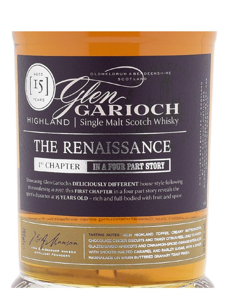 Glen Garioch 15 Years old Single Malt Whisky 700ml