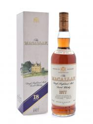 Macallan 1977 18 Year Old Sherry Oak (Bottled 1996) w/box
