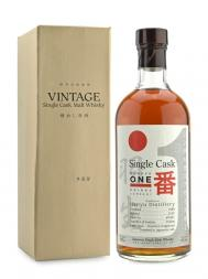 Hanyu Cask 9501 bottled 2007,bourbon hogshead 1988 700ml