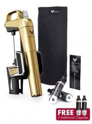 Coravin Model Two Elite Gold Wine System + Capsules (Pack of 2)