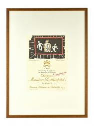 Picture Mouton 1994 with Frame