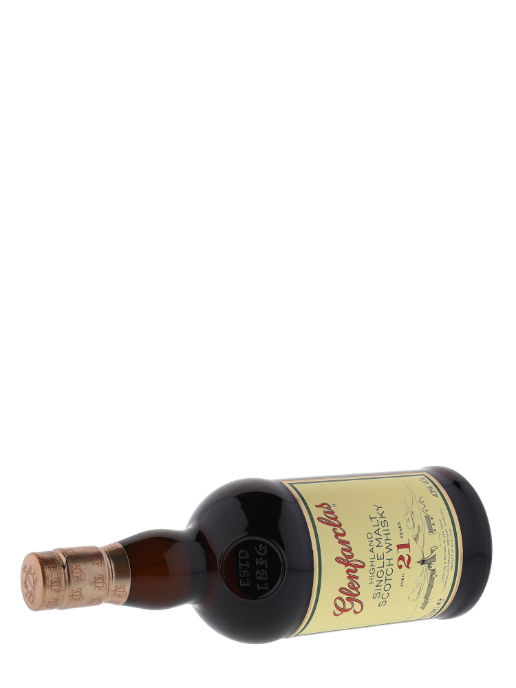 Glenfarclas 21 Year Old Single Malt Scotch Whisky 700ml - 6bots