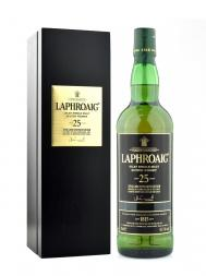 Laphroaig 25 Year Old Single Malt Scotch Whisky (Edition 2014) 700ml