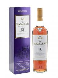 Macallan 1991 18 Year Old Sherry Oak w/box 700ml