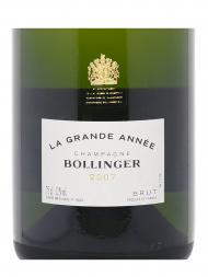 Bollinger La Grande Annee Brut 2007 w/box