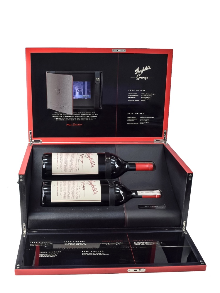 Penfolds Grange Collector's Edition 2008 &2010 1500ml