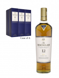 Macallan  12 Year Old Double Cask 700ml - 6bots